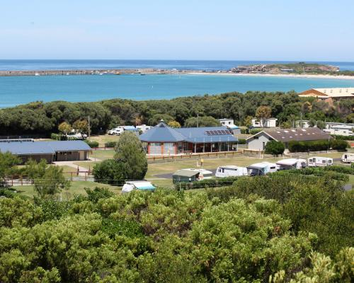 Landscaping Flagstaff Hill : Welcome to surfside holiday parks warrnambool vic